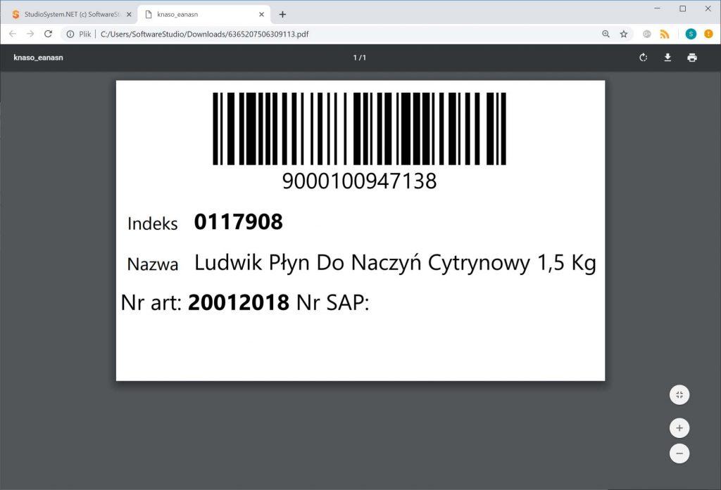 Oprogramowanie magazynowe firmy SoftwareStudio Poznań - kartoteki asortymentowe