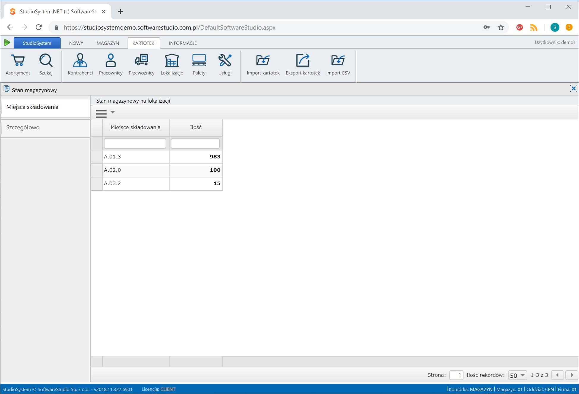 system magazynowy softwarestudio,rozmieszczenie towarów w magazynie,oprogramowanie magazynowe
