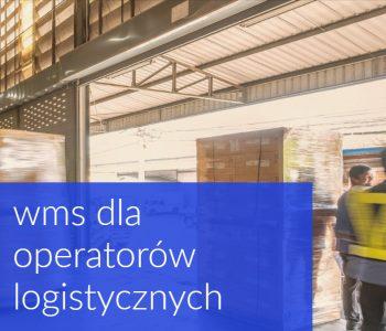 wms dla operatorów logistycznych