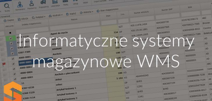 Informatyczne systemy magazynowe WMS