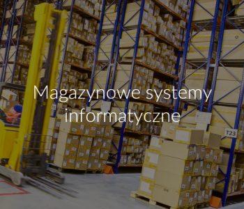 Magazynowe systemy informatyczne