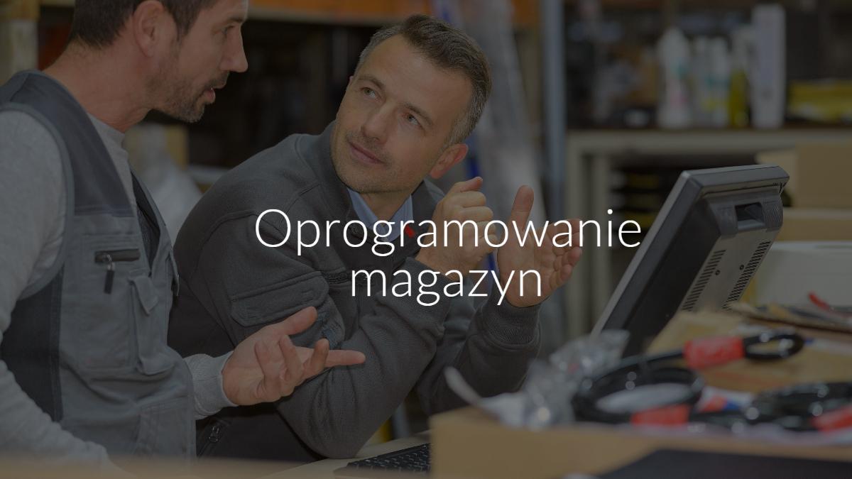 Oprogramowanie magazyn WMS