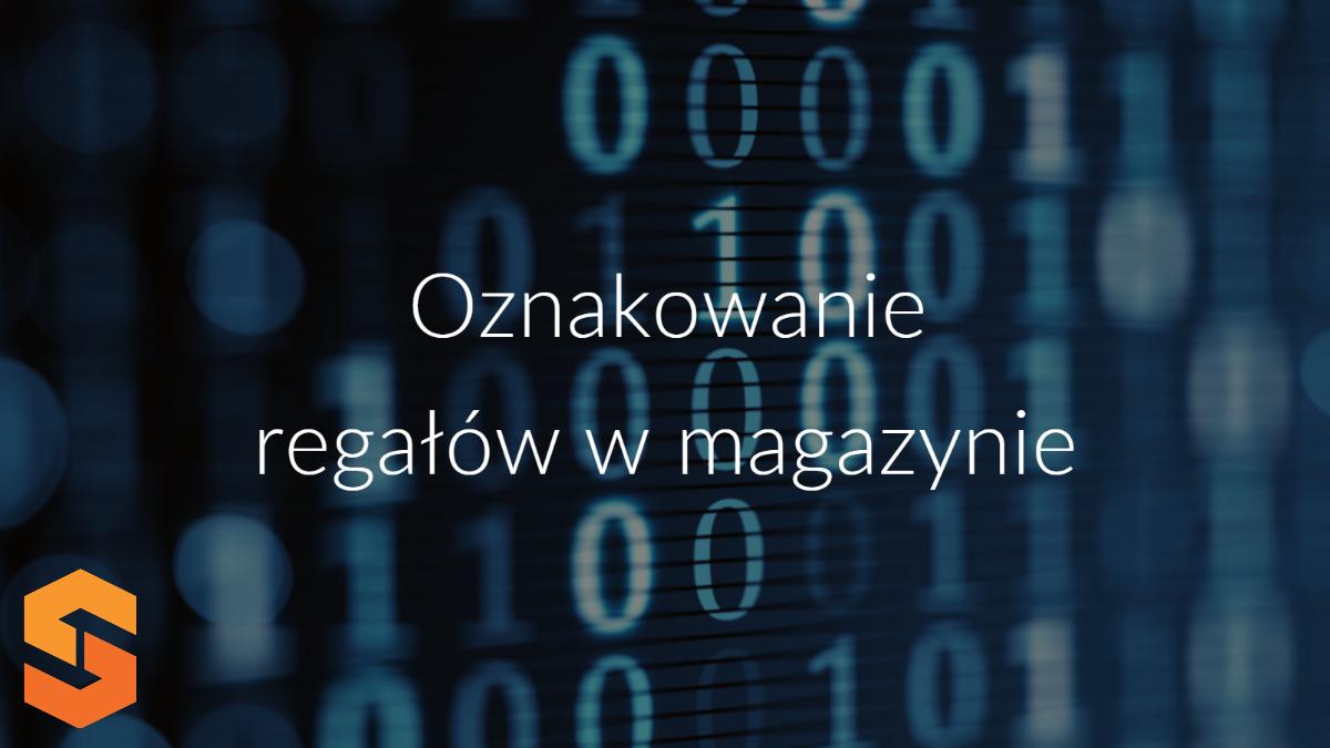 oprogramowanie magazyn,oznakowanie regałów w magazynie
