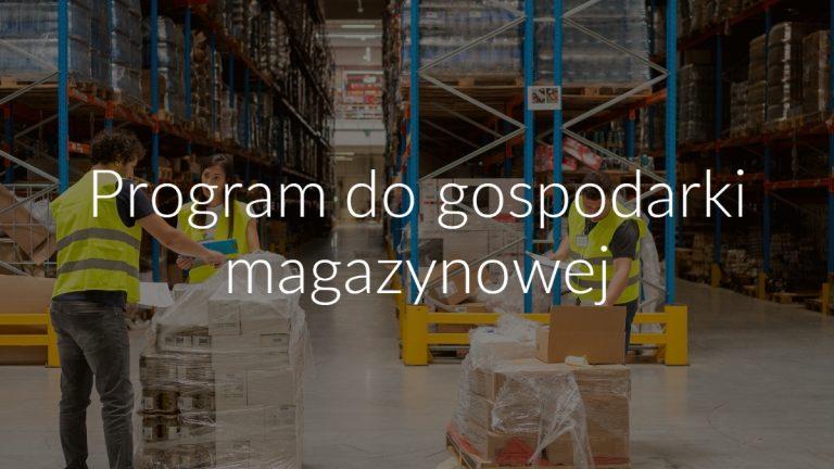 Program do gospodarki magazynowej SoftwareStudio