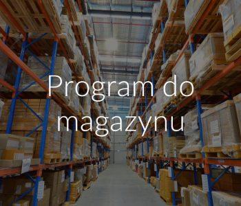 Program do magazynu