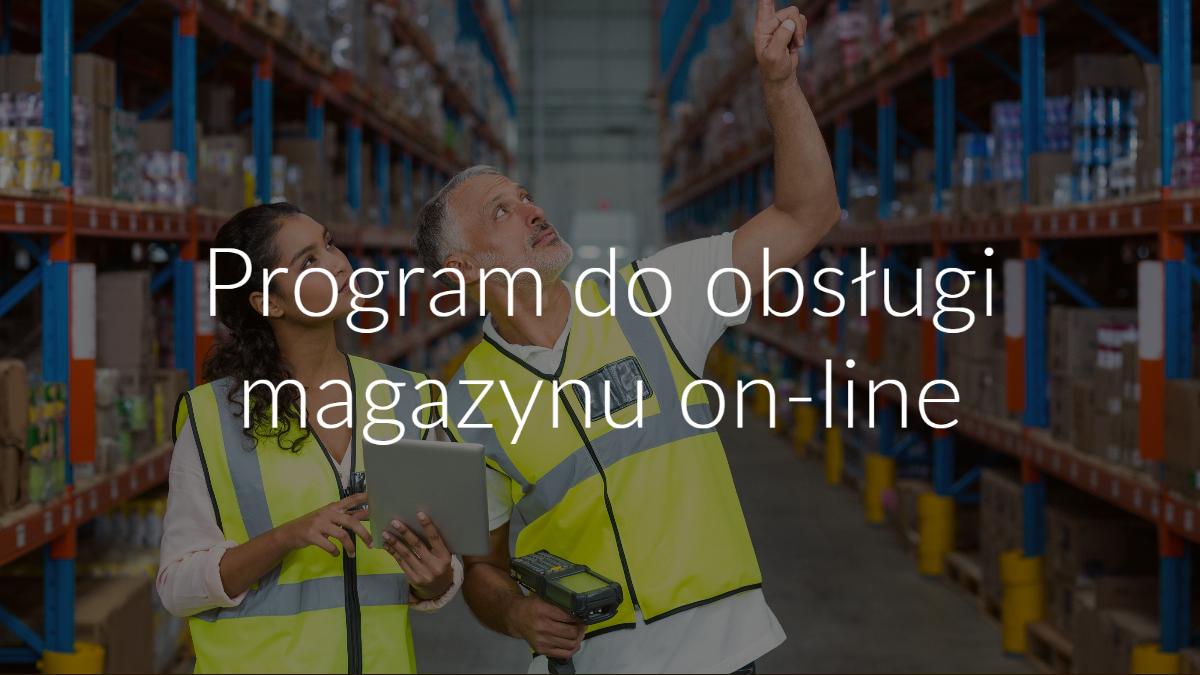 program do obsługi magazynu on-line