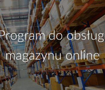 Program do obsługi magazynu online