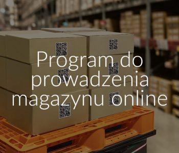 Program do prowadzenia magazynu online