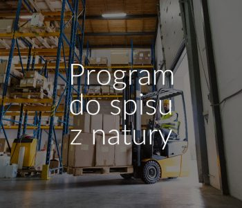 Program do spisu z natury