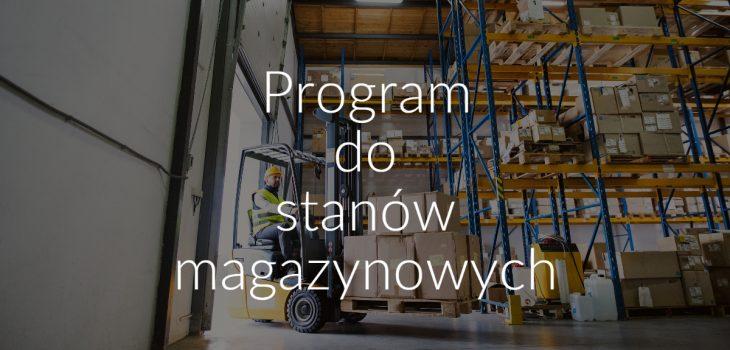 Program do stanów magazynowych