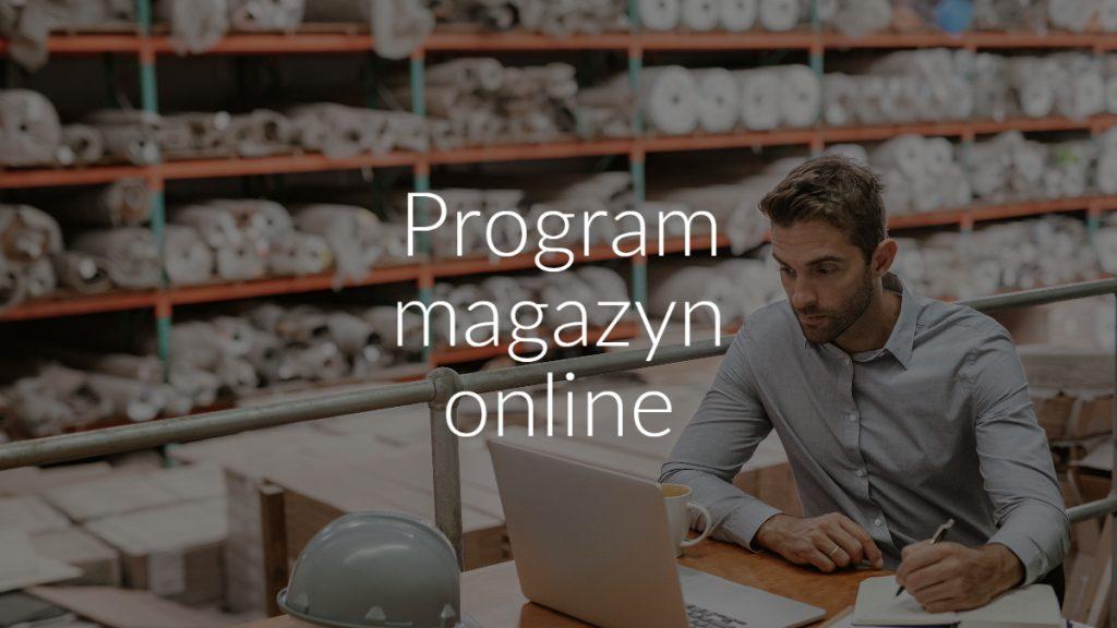 Program magazyn online