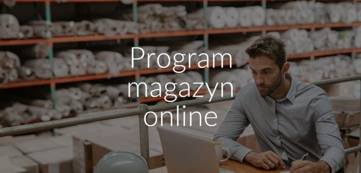Program magazyn online
