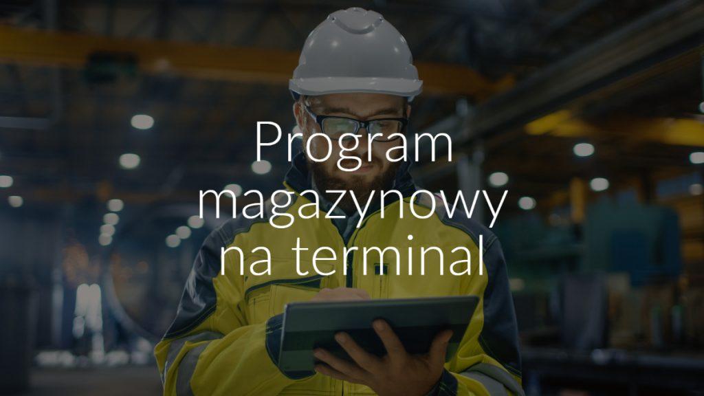 Program magazynowy na terminal