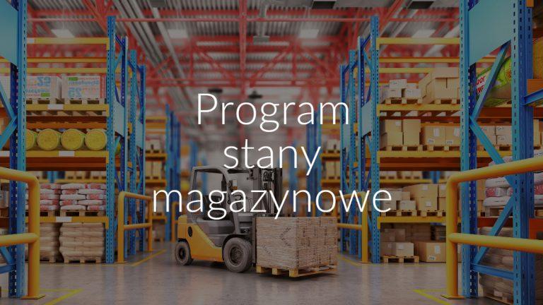 Program stany magazynowe