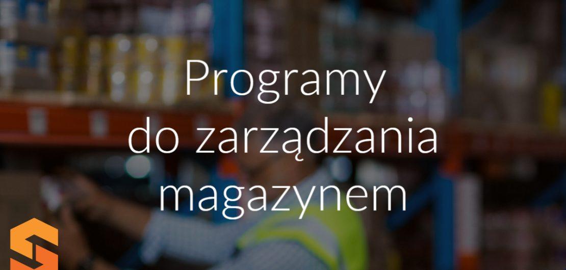 Programy do zarządzania magazynem