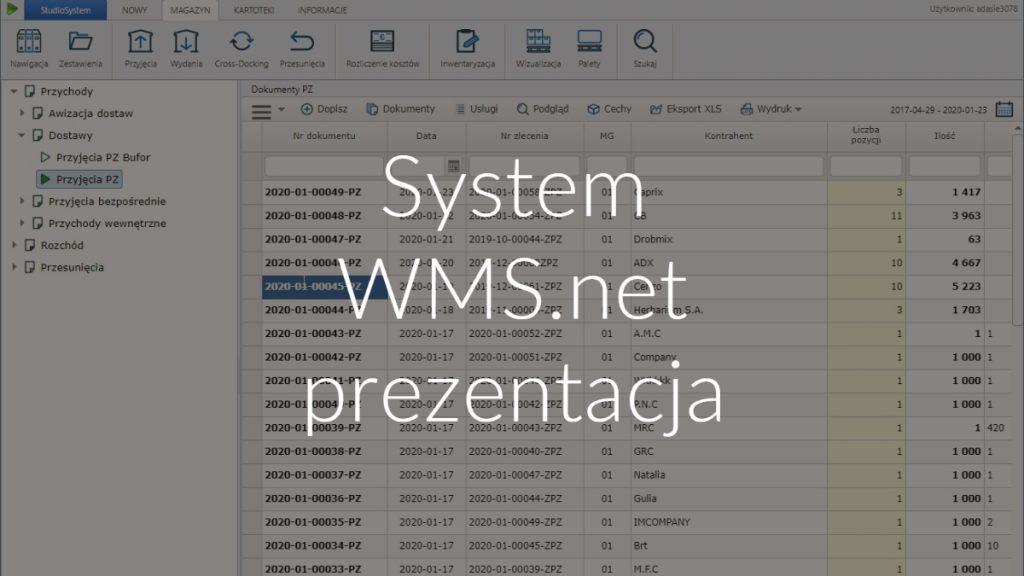 System WMS.net prezentacja