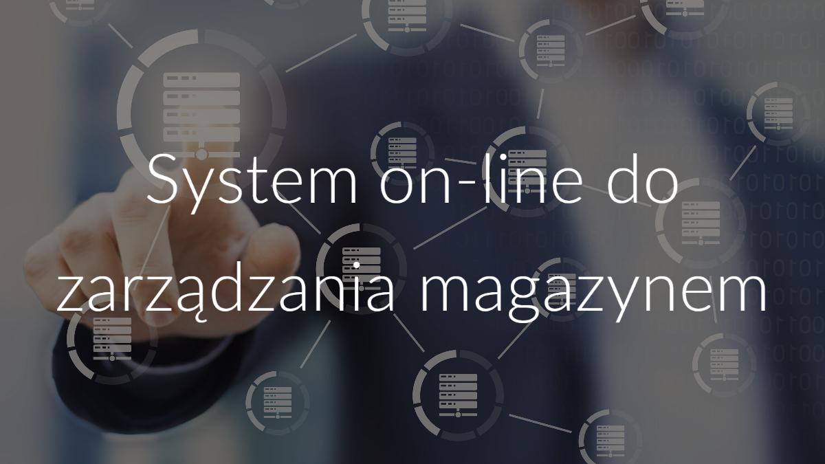 system on-line do zarządzania magazynem