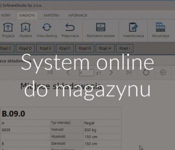System online do magazynu