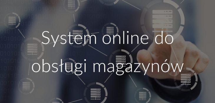 System online do obsługi magazynów