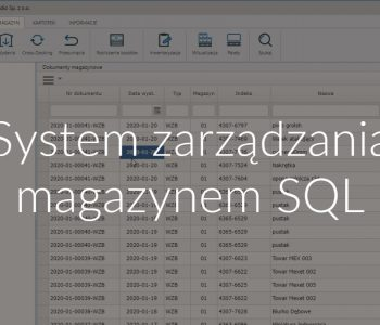 System zarządzania magazynem SQL