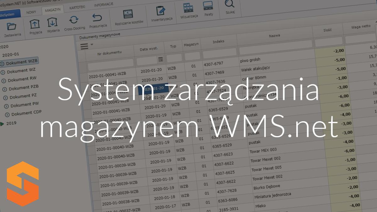 system zarządzania magazynem wms.net