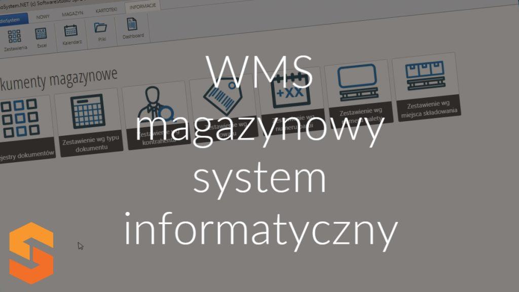 WMS magazynowy system informatyczny