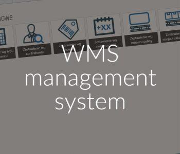 WMS management system