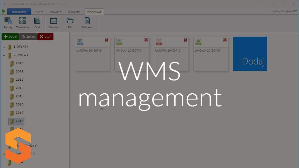 WMS management
