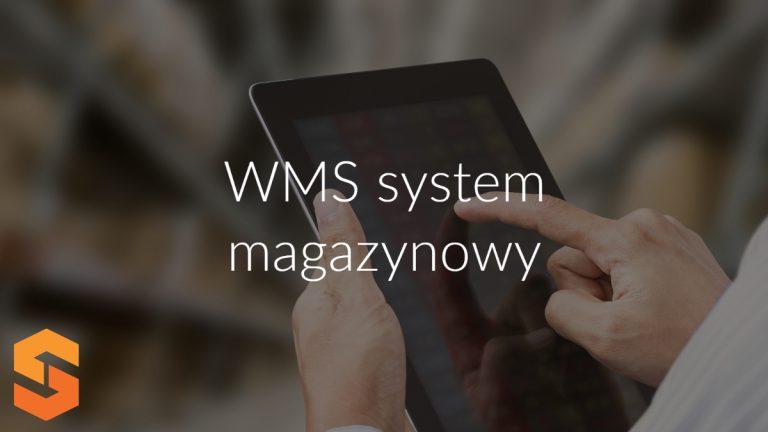 WMS system magazynowy