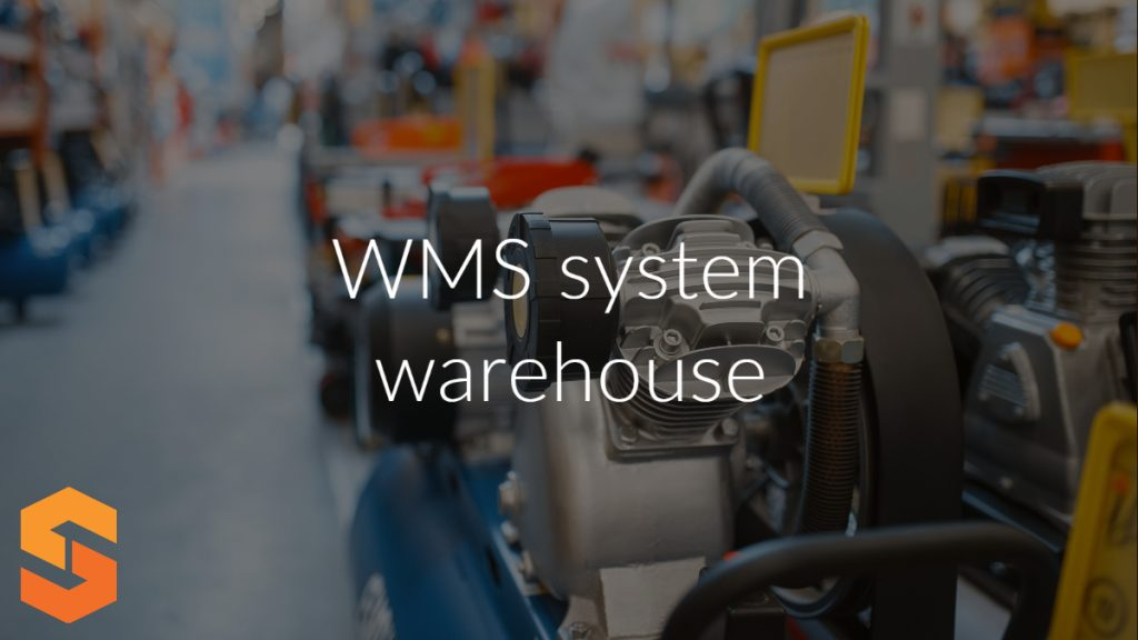 WMS system warehouse