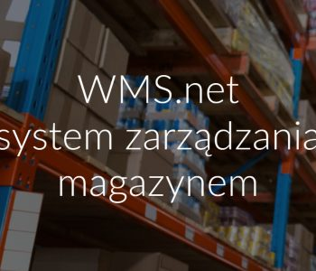 WMS.net system zarządzania magazynem