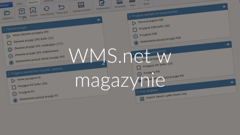 WMS.net w magazynie