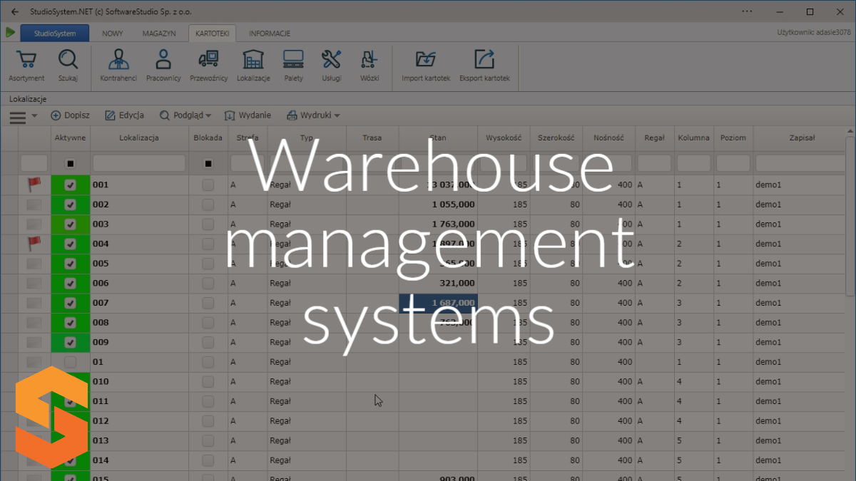 wms program magazynowy,warehouse management systems