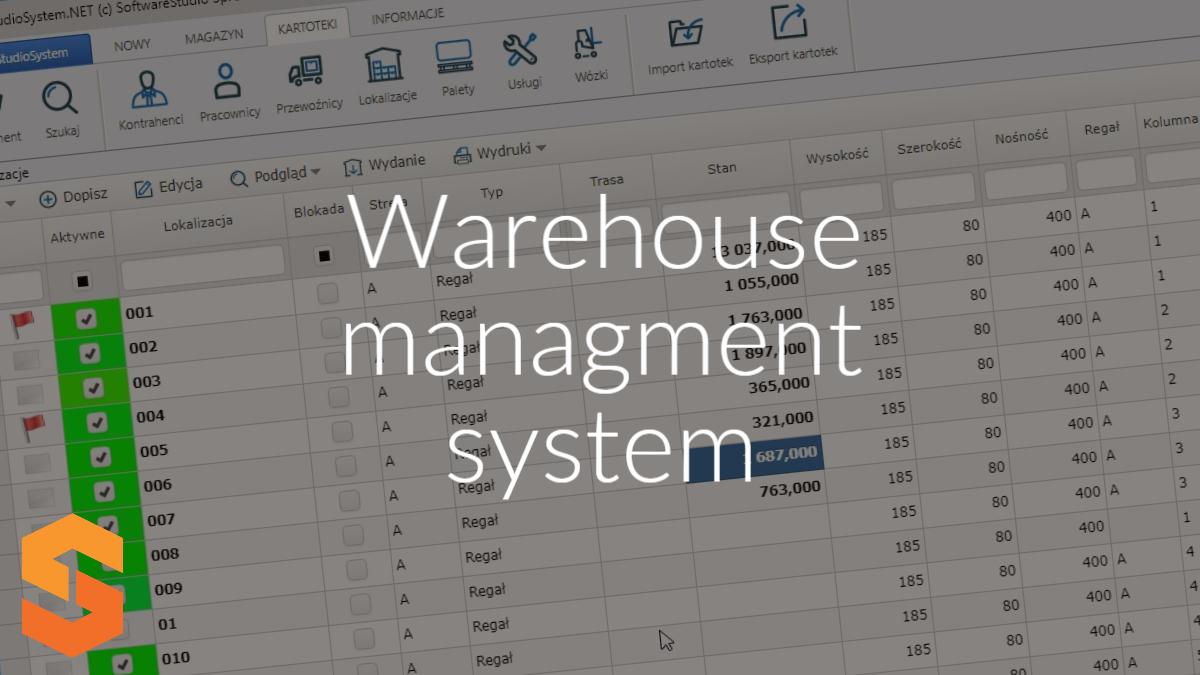 warehouse managment system