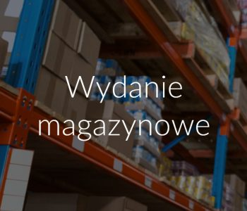 Wydanie magazynowe