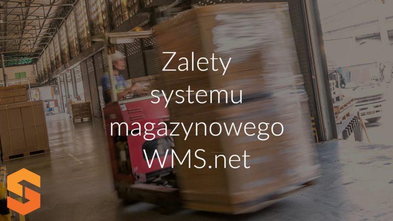 Zalety systemu magazynowego WMS.net
