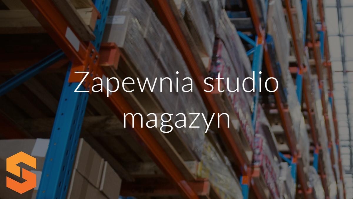 Zapewnia studio magazyn