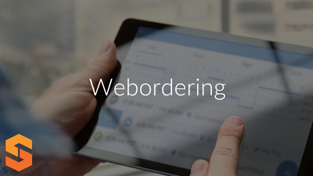 Webordering